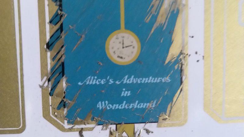 #3. Alice nel Paese delle meraviglie di Lewis Carrol