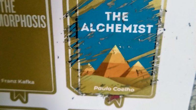 #9. L'Alchimista. Di Paulo Coelho
